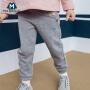 【满200减40/满300减80】迷你巴拉巴拉女童印花运动裤长裤2018秋季新款童装女宝宝纯棉裤子