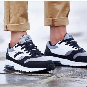 安踏男鞋正品运动鞋秋季复古透气气垫鞋综训鞋跑步鞋旅游休闲鞋11637776