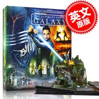 现货 星球大战 银河星系立体书 英文原版 Star Wars: The Ultimate Pop-Up Galaxy 马修・莱因哈特 星球大战系列电影 千年隼号