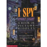 I Spy: Spooky Night 视觉大发现:深夜古堡 9780590481373