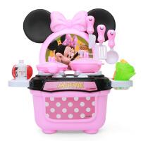 迪士尼Disney婴幼儿童过家家玩具米妮厨房果蔬切切乐仿真灯光灶台男童女童3岁+儿童玩具