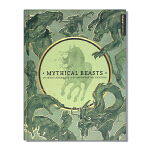 现货包邮 Mythical Beasts 神话动物 神秘的野兽 怪兽角色设计 艺术家设计幻想生物现场指南 CG插画技巧