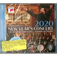 现货 中图音像 2020维也纳新年音乐会 2CD 原装进口 原版 指挥安德里斯・尼尔森斯Andris Nelsons