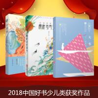 2018中国好书少儿获奖图书(共3册 大水 颜料坊的孩子 小翅膀)