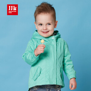 季季乐春季新款男童外套男宝宝时尚百搭可爱简约休闲燕尾外套PBCW61041