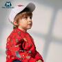 【尾品汇清仓】迷你巴拉巴拉男童印花长袖卫衣2018秋新款童装男宝宝纯棉套头上
