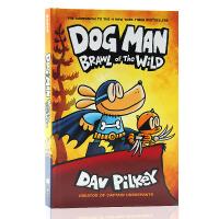 英文原版Dog Man 6 Brawl of the Wild精装神探狗狗的冒险6新故事野地之战 儿童漫画章节书