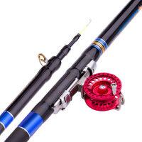 前打竿碳素钓鱼竿手竿海竿远投竿抛竿5.4米台钓竿渔具套装 支持礼品卡支付