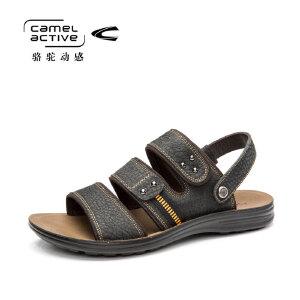 骆驼动感(camel active)夏季男士休闲凉鞋男沙滩鞋