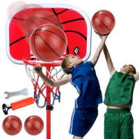 育儿宝 儿童篮球架 可升降室内户外铁杆铁框篮球架子小孩宝宝2岁以上健身篮球框男孩投篮游戏儿童玩具用品