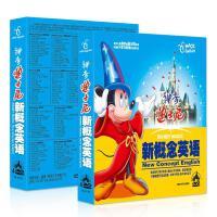 正版迪士尼神奇英语动画片幼儿少儿童启蒙教材动漫光盘DVD碟片
