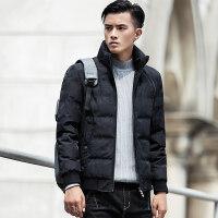 男士棉衣冬季外套2018新款帅气韩版潮流立领棉袄冬装衣服羽绒