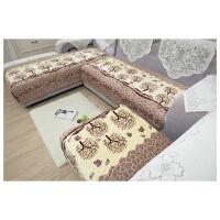 羽曼 法莱绒沙发垫 加厚防滑坐垫飘窗垫简约现代