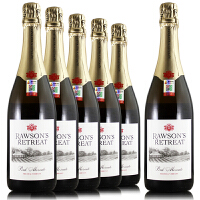 澳大利亚奔富洛神山庄桃红莫斯卡托起泡葡萄酒 原装原瓶进口750ml*6整箱
