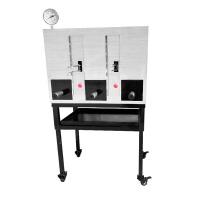 商用烤鱼炉木炭燃气无烟碳烤鱼炉烤箱不锈钢加厚便携