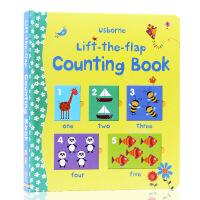 英文原版 Lift-The-Flap Counting Book 数字计数书0-3岁翻翻书 儿童英语单词幼儿早教英语启