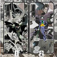复仇者手机壳华为nova 3 4 magic2荣耀8X P30 pro漫威蝙蝠侠小丑