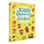 Usborne Activities 1000 Summer Stickers 关于夏天的贴纸书 精美场景 儿童英语1000个贴纸书 4-5岁 英文原版图书
