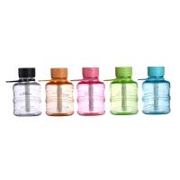 创意水瓶 学生大雾量七彩夜灯小加湿器车载USB迷你 空调办公桌面