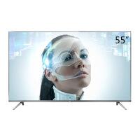 TCL D55A730U 55英寸30核人工智能纤薄金属机身HDR 4K液晶电视机(锖色)