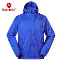 Marmot/土拨鼠新款夏季户外经典神衣超薄透气男士皮肤防晒衣风衣外套