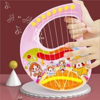 手提竖琴初学者儿童小吉他玩具可弹奏乐器