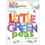 现货 小豌豆 色彩认知绘本 英文原版 Little Green Peas 儿童认知绘本 Keith Baker 基思・