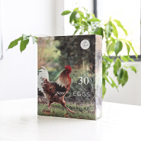 20/30枚鸡蛋盒包装盒礼盒土鸡蛋礼品盒牛皮纸箱定做盒子创意定制 30枚绿鸡1-10个