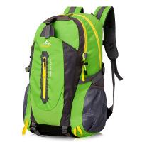 [定制logo]40L防水旅游双肩包女户外登山包男学生书包运动背包