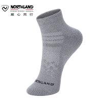 【顺心而行】诺诗兰户外女士低帮棉袜子登山运动休闲时尚吸汗棉袜A992051