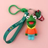 钥匙扣挂件创意个性小可爱汽车链圈环锁匙扣男女情侣书包挂饰
