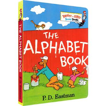 英文原版绘本The Alphabet Book 字母表 苏斯博士 Dr. Seuss 纸板书 P.D. Eastman