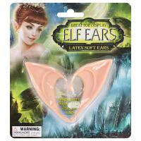 万圣节精灵耳朵 假耳朵精灵 天使cos道具 猫耳朵耳饰 吸血鬼 精灵耳朵