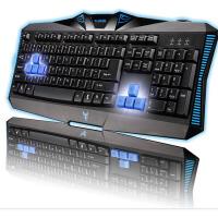 雷技 霹雳神九游戏键盘 有线usb 笔记本电脑办公防水 魔兽世界