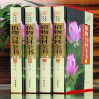 植物百科全书 4卷 科普读物 植物百科知识全书 图文收藏版 青少年学生可看课外科普图书 国学藏书文库全书全套 正版书籍