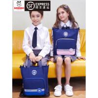 巴布豆学生手提袋拎书袋补习袋补课包美术袋补习班手提儿童小学生