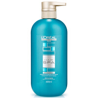L'OREAL欧莱雅 丝泉净化洗发露护发素600ml 去油去屑 补水护理spa清爽控油 专业洗护发