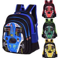 儿童背包男女孩双肩包1-3-6年级小学生包卡通汽车包