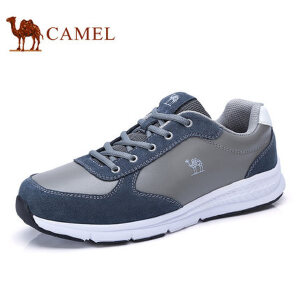 camel 骆驼男鞋 新品舒适运动低帮鞋 时尚男缓震百搭休闲鞋