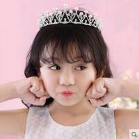 韩版女童礼服发箍配饰花童头饰水晶镶钻皇冠头箍饰品  支持礼品卡支付