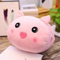 冬季神器暖手抱枕 新款毛绒毛绒猪猪 35*30cm 0.36kg