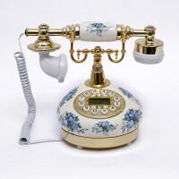 至臻仿古电话老式复古电话古董电话/陶瓷电话机 家用时尚可爱座机