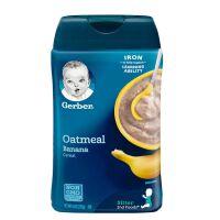 美国Gerber嘉宝 2段香蕉燕麦米粉米糊 227g 婴幼儿辅食