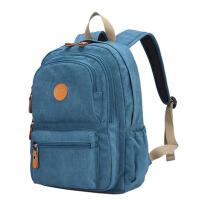 女士双肩包帆布女包学院风潮包旅行背包书包中学生