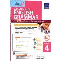 【首页抢券300-100】SAP Learning Grammar Workbook 4 小学四年级英语语法练习册在线测