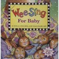 Wee Sing for Baby 英文原版 欧美经典儿歌:温馨童谣 书 CD 有声读物