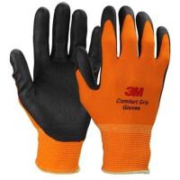 户外舒适手套3M手套 通用型灵巧防护手套涂胶 运动
