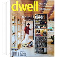美国 dwell 杂志 订阅2020年 E77 现代家居室内空间设计 软装陈设设计杂志