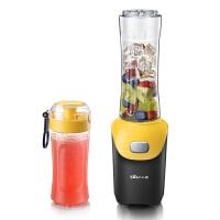 小熊(Bear)便携榨汁机 多功能料理机迷你果汁机搅拌机 家用婴儿辅食机 双杯 LLJ-D06D2