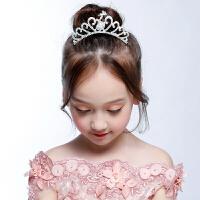 公主皇冠头饰合金王冠发饰儿童礼服配饰六一表演饰品